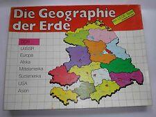 Puzzel Puzzle DDR Baukasten - LEGE-Spiel - Die Geographie der Erde
