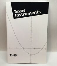 TI-85 Texas Instruments Graphic Calculator Manual Guidebook ONLY Z5