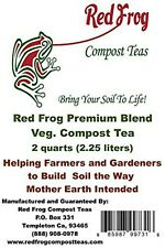 VEG / GROW BLEND Red Frog Plant Nutrients;All Nutrients Needed in ONE 4lb Bag