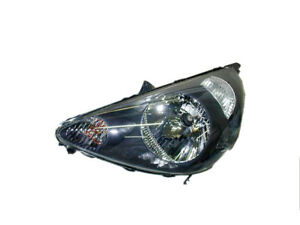 *NEW* HEADLIGHT HEAD LIGHT LAMP (BLACK) for HONDA JAZZ GD GLI  2002 - 2004 LEFT