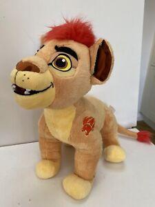 "Lion King Simba Son KION Talking Roars Lights Up Lion Guard Stuffed Plush 12"""