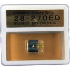 NAGAOKA DIAMOND STYLUS G28-270ED FOR TECHNICS EPC-270ED FREE SHIPPING TRACKING