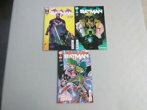 BATMAN 106 107 108 SET 1ST FULL MIRACLE MOLLY + GARDENER APPEARANCES NEVER READ