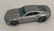 Hot Wheels Chevy Camaro Concept Silver Loose Free Shipping