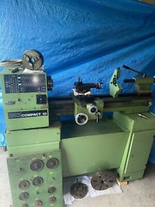 Emco compact 10 lathe With all gears, Chuck, Steady Rest, Inch & Metric, 1 Phase