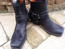Sendra Bikerstiefel-ette 2746 Vintage-Schwarz (Serr.Ma.Negro) Gr. 8 = 42