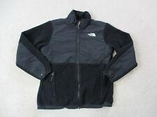 The North Face Jacket Girls Extra Large Black White Full Zip Coat Kids Youth