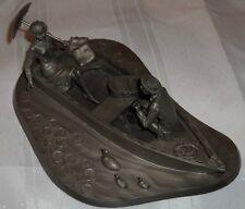 Franklin Mint Pewter Norman Nemeth Ukelele Serenade Figurine Sculpture - Nice