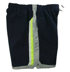 NIKE MEN'S SUMMER SWIM TRUNKS SHORTS  NAVY BLUE VOLT SIZE XXL