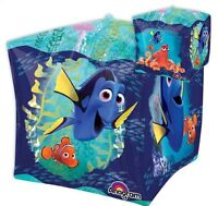 FINDING DORY CUBEZ SQUARE SHAPED FOIL BALLOON UNDER THE SEA PARTY DECORATION