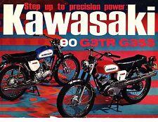 1969 Kawasaki 90 G3TR&G3SS Trail/Street motorcycle sales brochure(Reprint) $9.00