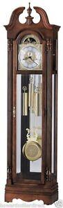 Howard Miller 610-983 Benjamin - Chiming Cherry Grandfather Clock - 610983
