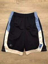 NBA Mens Basketball Shorts Sz M Blue Sky Blue White NBA Logo
