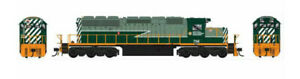 BOWSER (HO) 24028 BCR SD40-2 RD# 757 DCC/LOKSOUND - DCC/LOKSOUND