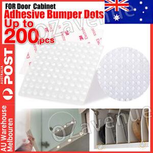 Clear Self Adhesive Rubber Feet Bumper Dots Door Cabinet Bumper Buffer Stop Pad