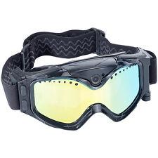 Skibrille Mit Kamera: Premium Skibrille mit integrierter HD-Action-Cam