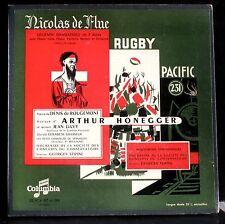 Honegger Nicolas de Flue - Rugby - Pacific 231 - Tzipine 2 x LP NM-/NM, BX EX+