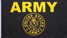 Army Gold and Black Flag United States Military Banner US Pennant New 3x5