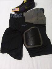 $70 Nike Pro Sz 3Xl Hyperstrong Camo Padded Football Shorts 896253-010 Black