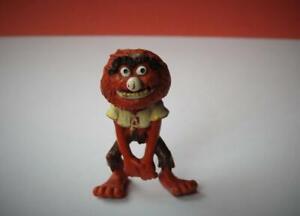 "SCHLEICH HA VINTAGE 1976-78 ""ANIMAL"" JIM HENSONS MUPPETS W GERMANY"