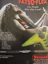Dimebag Darrell, Pantera, Spectraflex Cables, Full Page Vintage Promotional Ad