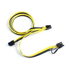 Modular PSU Power Supply Cable PCI e Molex 6pin to 2 8 pin 6+2pin Splitter Cable