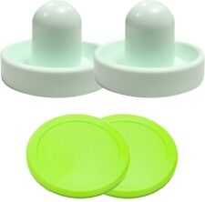 Air Hockey Mallets / pushers (Dynamo) with 2 large Pucks!