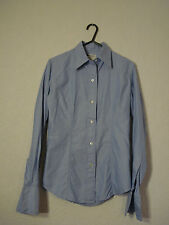 T M Lewin blue cotton shirt 6