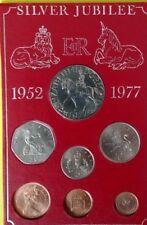 Silver Jubilee 1952 - 1977 Coin Set