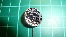 KLM pin stick badge 60's original lapel Amsterdam Biak Sydney aviation