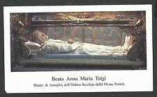 Estampa de la Beata Maria Ana andachtsbild santino holy card santini
