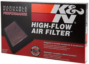 Fits Kia Sportage 2017-2019 K&N High Flow Replacement Air Filter