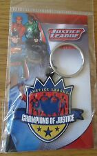 JUSTICE LEAGUE ' CHAMPIONS OF JUSTICE ' KEY RING.
