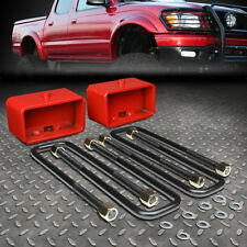 """FOR 1995-2018 TOYOTA TACOMA 2WD 4WD RED 3"""" REAR SUSPENSION LEVELING LIFT KIT"""