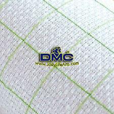 Cross Stitch Aida Fabric - 14ct white, 150cm X 100cm Pre-Grided, 10x10 checked