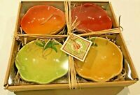 WILLIAMS SONOMA Heirloom Tomato Dipping Bowls- Set of 4