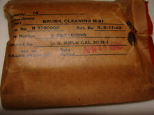 Pack of 10 pieces Brush Cleaning M-31 For US Rifle Cal 30 M-1, 1945-th year
