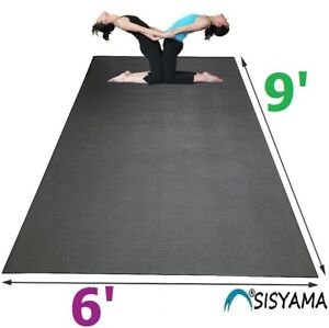HUGE Extra Large Workout Exercise Yoga Mat 9' 6' MMA Home Gym Flooring 5' 7' 8'