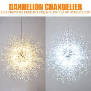 Modern Dandelion LED Chandelier Firework Pendant Lamp Ceiling Light Home Decor
