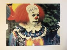 """RARE! STEPHEN KING SIGNED AUTOGRAPHED   """"IT""""   PHOTO"""