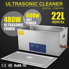 22L Ultrasonic Cleaners Cleaning Supplies Heater Commercial