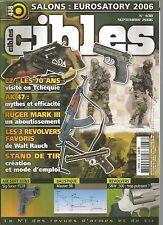CIBLES N°438 CZ / AK 47 / RUGER MARK III / SIG-SAUER P228 / MAUSER 98 / S&W 500