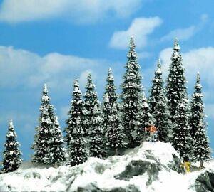 Busch 6566 - N / Tt Snow Firs (30-60mm) - 20 Piece - New