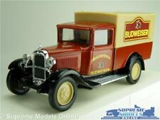 CITROEN C4F BUDWEISER MODEL VAN 1:43 BREWERY SOLIDO GOLDEN AGE D'OR ANHEUSER K8