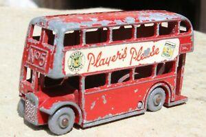 MATCHBOX   5b LONDON BUS...RARE PLAYERS good condition 1950s