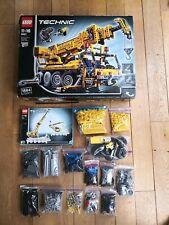 Lego Technic Technik 8421 Pneumatik Kranwagen mit Motor 100% vollständig OVP BA