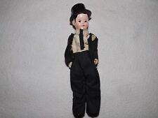 vintage plastic groom doll Happi Time 50's  tuxedo top hat