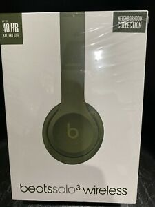Beats Solo 3 Wireless - Neighborhood Collection - Turf Green