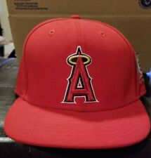 Anaheim Angels 50th Anniversary hat New Era fitted hat NWOT 7 1/2