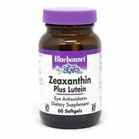 Bluebonnet - Zeaxanthin Plus Lutein- 60ct - (EXP 08/2019) FREE SHIPPING